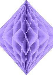 Diament bibułowy, liliowy, 20cm uniwersalny