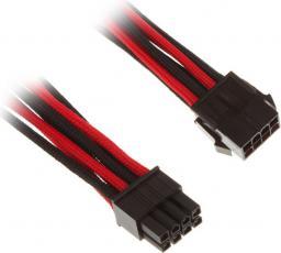 BitFenix Przedłużacz 8-Pin EPS12V 45cm - czarno czerwony (BFA-MSC-8EPS45RKK-RP)