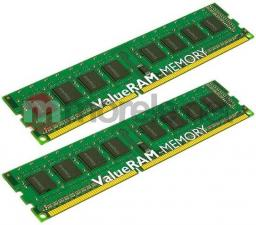 Pamięć Kingston ValueRAM, DDR3, 8 GB, 1333MHz, CL9 (KVR13N9S8K2/8)