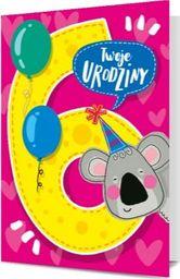 """PAN DRAGON KARNET B6 """"Twoje 6 Urodziny"""""""