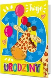 """PAN DRAGON KARNET B6 """"Twoje 10 Urodziny"""""""