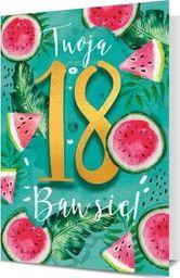 PAN DRAGON Karnet B6 18 urodziny Arbuzy  K.B6-1710