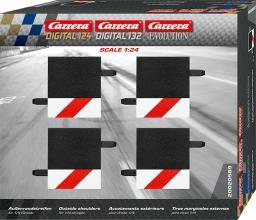 Carrera Pobocze dla prostej 1/4 4szt. (20589)