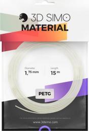3DSimo Filament PETG/PLA - biały 15m