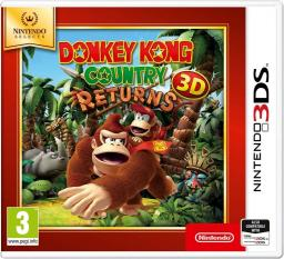 Gra Nintendo 3DS Donkey Kong Country Returns 3D