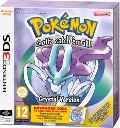 Gra Nintendo 3DS Pokémon Crystal DCC