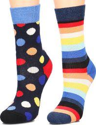 Happy Socks Happy Socks 2-Pack - Skarpety Dziecięce - KBDO02-6500 24/26