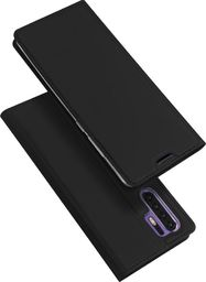 Dux Ducis DUX DUCIS Skin Pro etui pokrowiec z klapką Huawei P30 Pro czarny uniwersalny