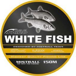 Mistrall Żyłka Mistrall 0,25mm shiro white fish 150m zm-3476025