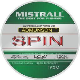 Mistrall Żyłka Admunson spin 150m 0,22mm Mistrall zm-3331022