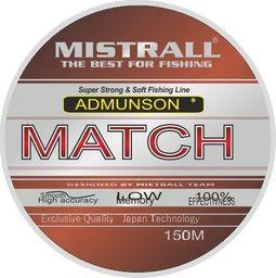 Mistrall Żyłka Admunson match 150m 0,10mm Misttall zm-3334010