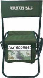 Mistrall Krzesło z torbą Mistrall zielone  am-6008820