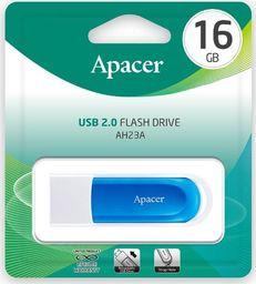 Pendrive Apacer AH23A 16GB USB 2.0 (AP16GAH23AW-1)