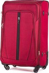 Solier Podręczna walizka miękka S   czerwony one size