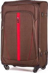 Solier Podręczna walizka miękka S   brązowy one size