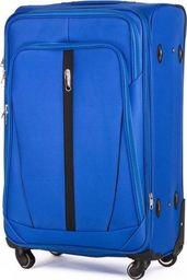Solier Podręczna walizka miękka S   jasny niebieski one size