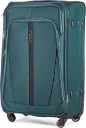 Solier Podręczna walizka miękka S   zielony one size