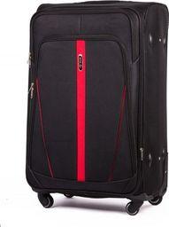 Solier Podręczna walizka miękka S   czarny one size