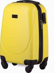 Solier Walizka kabinowa XS  abs żółta one size