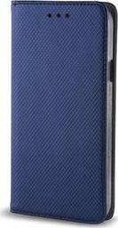 TelForceOne Pokrowiec Smart Magnet do Huawei P30 Pro granatowy
