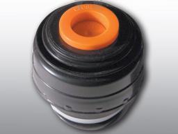Promis Korek do termosu 0.75L - 1L czarno-pomarańczowy