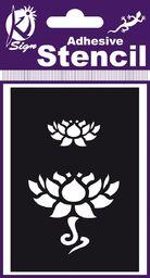 Ki-Sign Szablon 7x10 cm Kwiat Lotosu