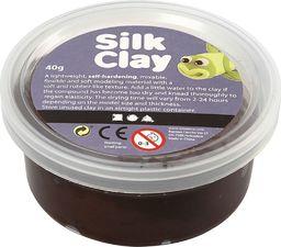 Creativ Company Masa Silk Clay Brązowa 40 g