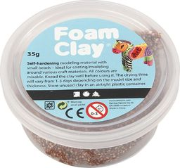 Creativ Company Masa Foam Clay Brązowa 35 g