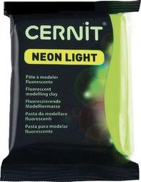 The Clay and Paint Factory Modelina Cernit Neonowo Zielona 56 g