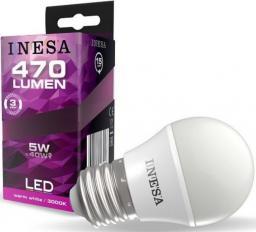 Sylvania Żarówka LED Ball 5W 470lm 3000K E27 160° G3 60645 INESA