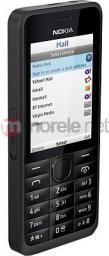Telefon komórkowy Nokia  ASHA 301 Black