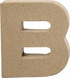 Creativ Company Litera B z papier-mache H: 10 cm