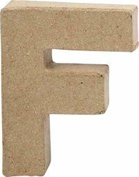 Creativ Company Litera F z papier-mache H: 10 cm