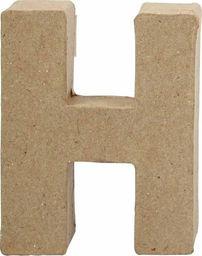 Creativ Company Litera H z papier-mache H: 10 cm