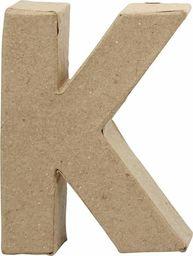 Creativ Company Litera K z papier-mache H: 10 cm