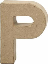 Creativ Company Litera P z papier-mache H: 10 cm