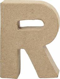 Creativ Company Litera R z papier-mache H: 10 cm