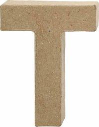 Creativ Company Litera T z papier-mache H: 10 cm