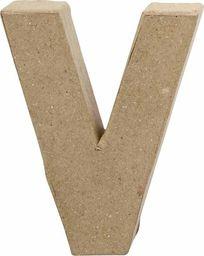 Creativ Company Litera V z papier-mache H: 10 cm