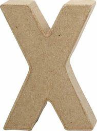 Creativ Company Litera X z papier-mache H: 10 cm