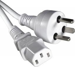 Kabel zasilający Roline Przewód EDB - C13 6m biały