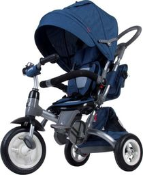 Sun Baby Rowerek trójkołowy Little Tiger pompowane koła - melanż niebieski