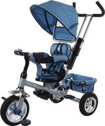 Sun Baby Rowerek trójkołowy z obrotowym siedzeniem - melanż niebieski