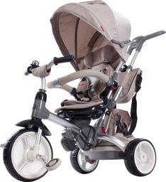 Sun Baby Rowerek trójkołowy Little Tiger - beżowy