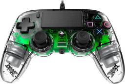Gamepad Nacon PS4 compact zielony świecący
