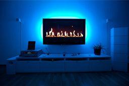 Eko-Light TAŚMA LED USB TV 2X50CM NIEBIESKA