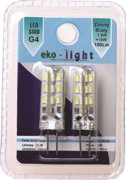 Eko-Light 1,5W G4 12V. Barwa: Ciepły