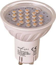 Eko-Light 3W GU10. Barwa: Ciepła