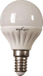 Eko-Light 7W E14. Świeczka Barwa: Ciepła