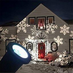 Lampki choinkowe Eko-Light świąteczny rzutnik Led płatki śniegu (EKO-3010)